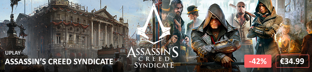 Assassin's Creed Syndicate 1000X232