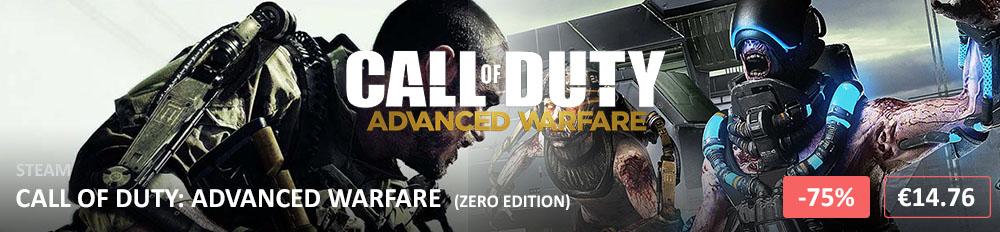 Call of Duty Advanced Warfare -75 1000x232
