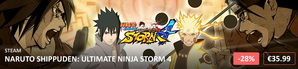 Naruto Shippuden Ultimate Ninja Storm 4 1000x232