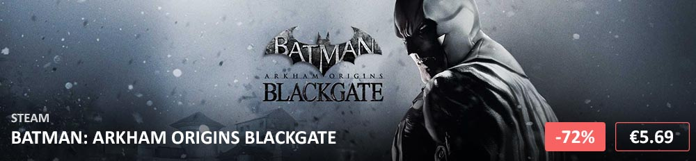Batman Arkham Origins Blackgate 1000x232