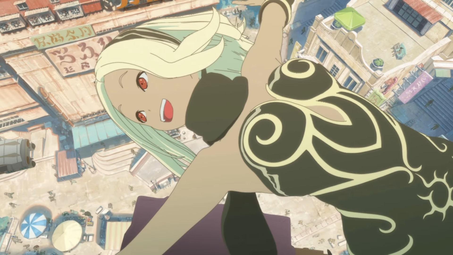 Un Nuevo Tráiler De Gravity Rush The Animation Overture
