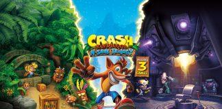 Crash Bandicoot N. Sane Trilogy Key Art