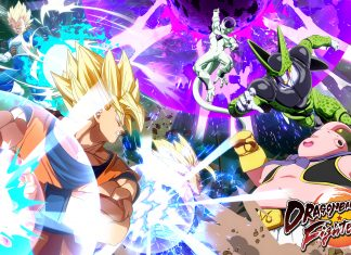 Dragon Ball FighterZ Reveal Key Art