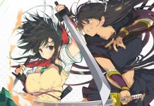 Senran Kagura Burst ReNewal Key Art