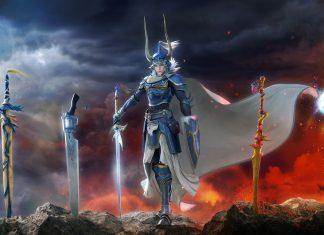 Dissidia Final Fantasy NT Warrior of Light Swords