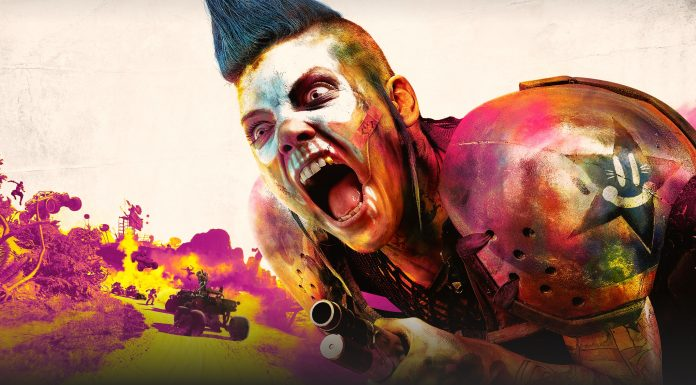 RAGE 2 Key Art