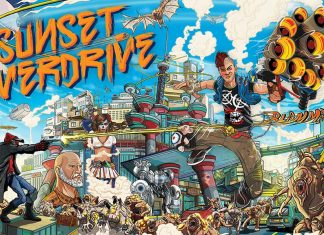 Sunset Overdrive Key Art