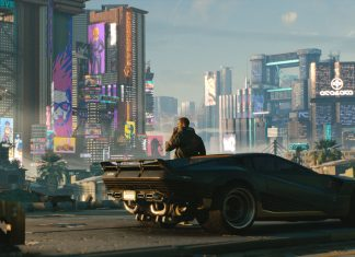 Cyberpunk 2077 coche