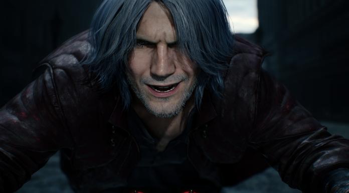 Devil May Cry 5 Dante risa
