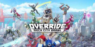 Override: Mech City Brawl Key Art