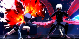 Tokyo Ghoul: re Call to Exist Kaneki y Touka