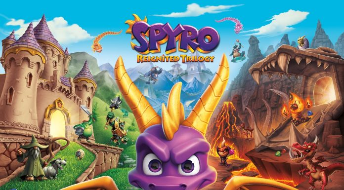 Spyro Reignited Trilogy Key Art