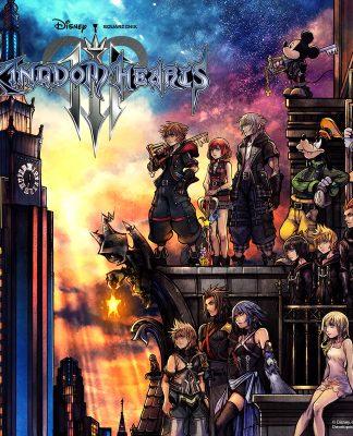 Kingdom Hearts III Key Art