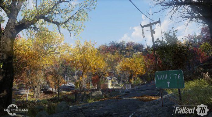 Fallout 76 BETA Vault 76 signal