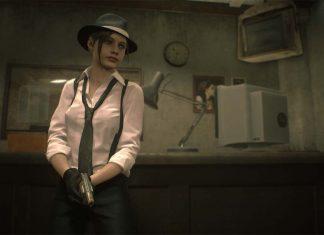 Resident Evil 2 Noir Claire Redfield