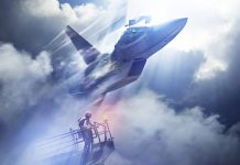 Ace Combat 7 Skies Unknown Key Art