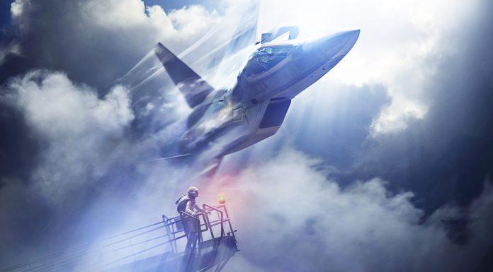 Ace Combat 7 Skies Unknown Key Art