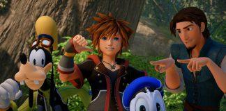 Kingdom Hearts III Bosque de Corona