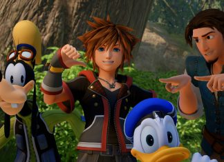 Kingdom Hearts III Bosque de Corona