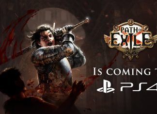 Path of Exile Key Art PS4