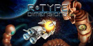 R-Type Dimensions EX Key Art