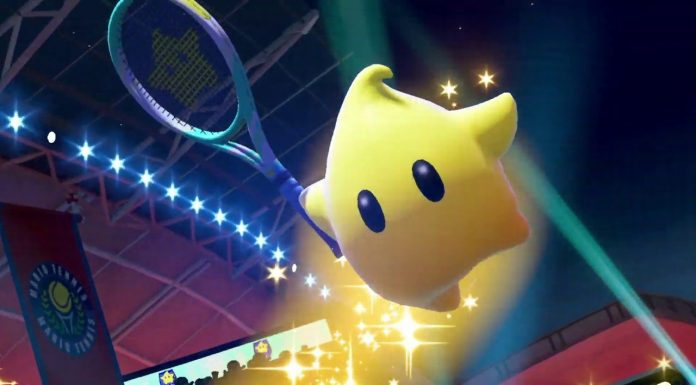 Mario Tennis Aces Destello