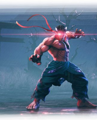 Street Fighter V Arcade Edition Kage Key Art