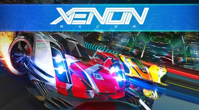 Xenon Racer Key Art