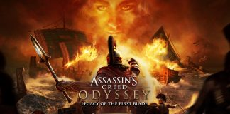 Assassin's Creed Odyssey La Herencia de las Sombras Key Art