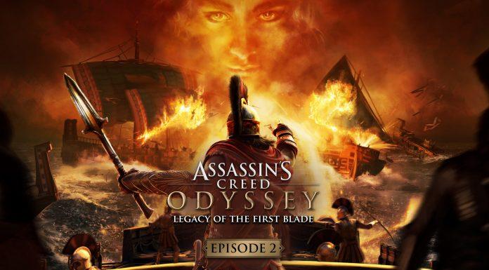 Assassin's Creed Odyssey La Herencia de las Sombras Key Art