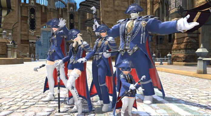 Final Fantasy XIV Blue Mage