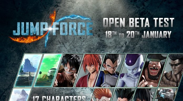 Jump Force Open Beta Roster