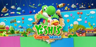 Yoshi's Crafted World Key Art