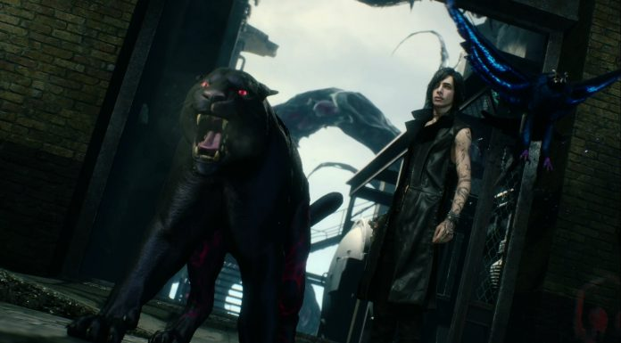 Devil May Cry 5 V Panther Eagle