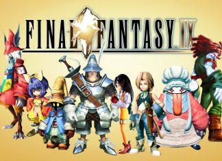 Final Fantasy IX Key Art