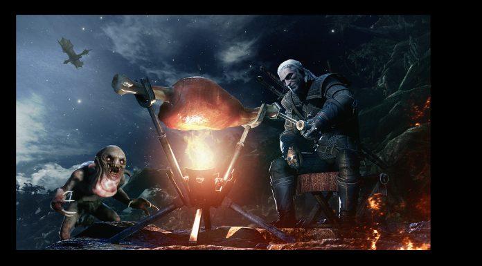 Monster Hunter: World x The Witcher 3: Wild Hunt Geralt