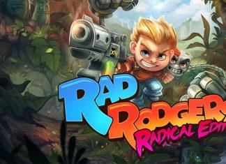 Rad Rodgers Radical Edition Key Art