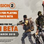 The Division 2 Open Beta Date