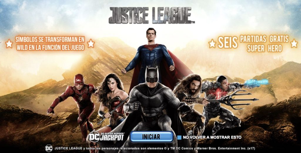 Justice League Tragaperras